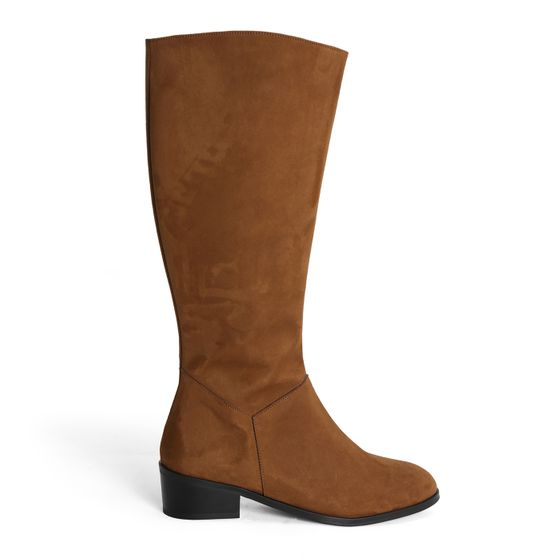 Novacas Devi Faux Suede Riding Boot ( Tan )