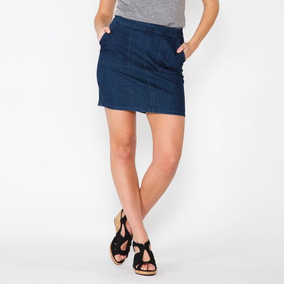 Prana Kara Denim Skirt ( Indigo )