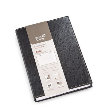 Quo Vadis 2019 Club Notor Planner (4.75 x 6.75) in Black