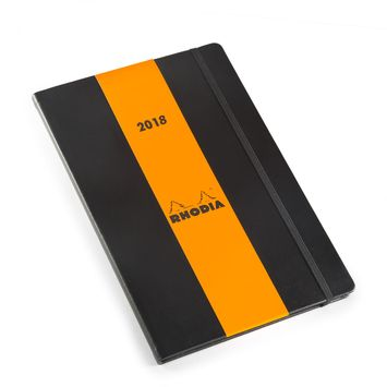 Rhodia 2020 Large Weekly Planner (6.25 x 9.5) in Black