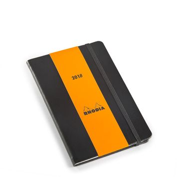 Rhodia 2021 Pocket Weekly Planner (4 x 6) in Black