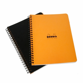 Rhodia A5+ Meeting Book (6.5 x 8.25)