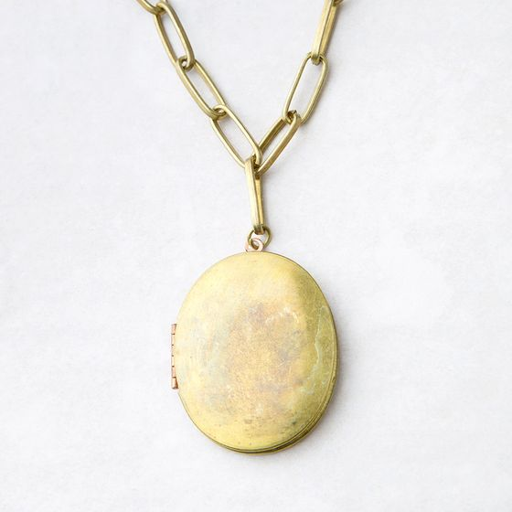 Roost Voyager Locket Necklace