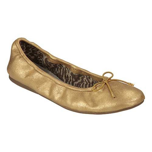 Sanuk Metallic Ballet Shoe ( Gold )