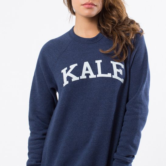 Sub Urban Riot Navy Blue Kale Sweatshirt ( Navy/White )