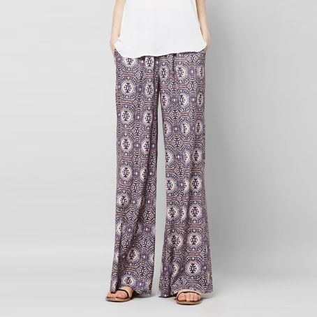 Three Eighty Two Edison Wide Leg Pant ( Palais Print )