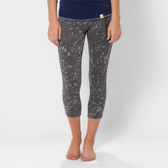 Tonic Bliss Cropped Legging ( Gun Metal )
