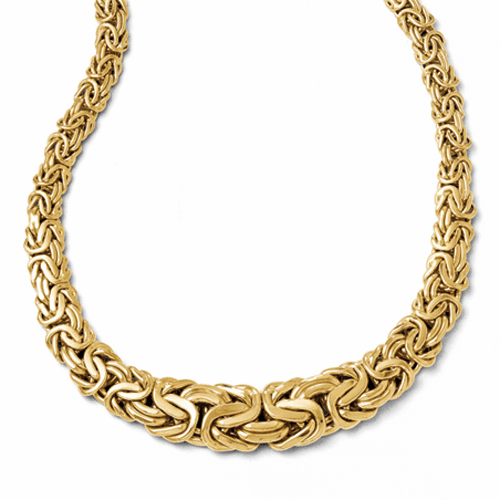 14k Gold Byzantine Necklace. 65% off!!!
