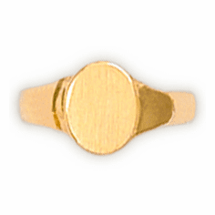 14k Gold Child's Signet Ring