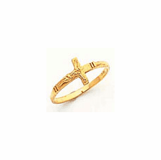 14k Gold Children's Ring