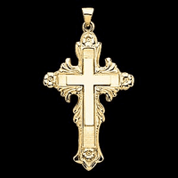14k Gold Cross  and Crucifix Galleria