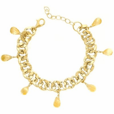 14K Gold Expressions Mix Collection Bracelet
