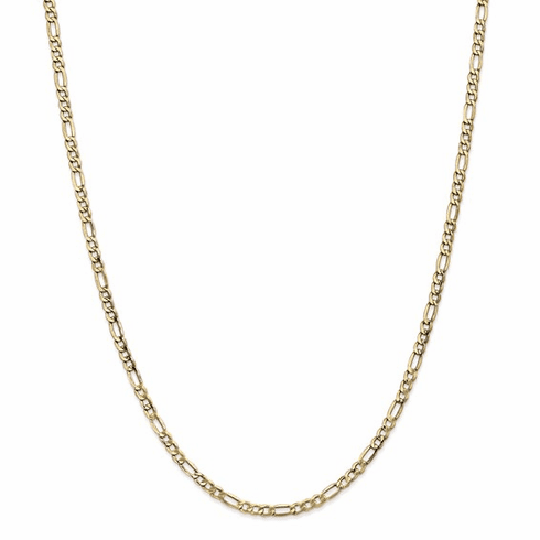 14k gold figaro chain