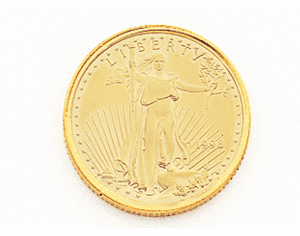 22K Gold 1/10TH OZ AMERICAN EAGLE COIN