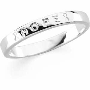 """Breast Cancer Awareness """"Hope"""" Ring"""