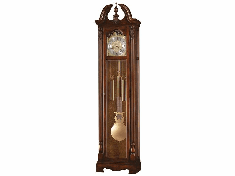 Bryson Cherry Finish Floor Clock  Model 611-078