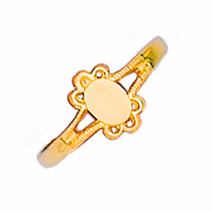 Gold Baby and Children's Rings