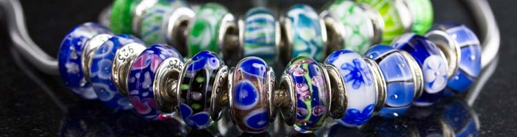 Hand Blown Glass Beads by Reflections only $22.00 each