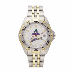 MLB Arizona Diamondbacks Stainless Steel All Star Watch
