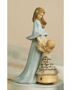 Mother and Child Figurine