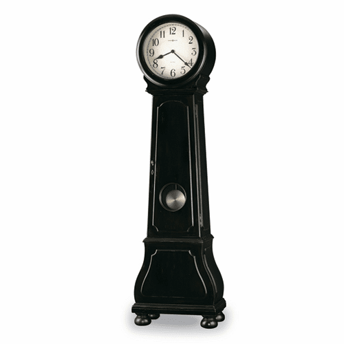 Nashua Worn Black-Brown Finish Floor Clock-- Model 615005