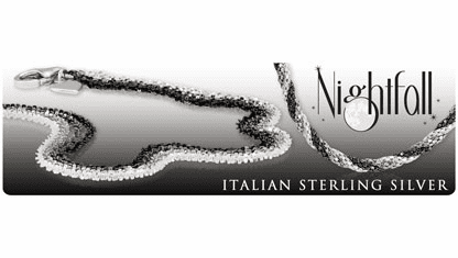 Nightfall Italian Silver Jewelry Collection