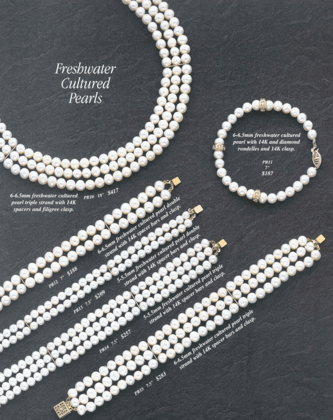 Pearl Bracelets and Bangles