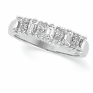 Platinum 3/4 ct tw Bridal Anniversary Ring