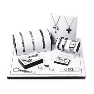Tungsten and Stainless Steel Jewelry Collection