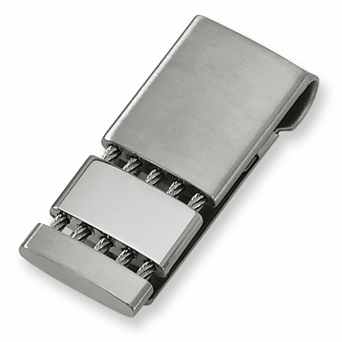 Stainless Steel Money Clip by Chisel