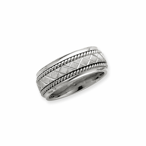 Sterling Silver Inner Channel Spinning Band