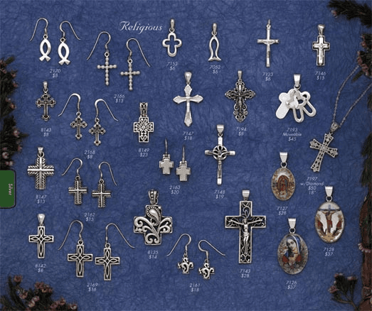 Sterling Silver Religious Jewelry