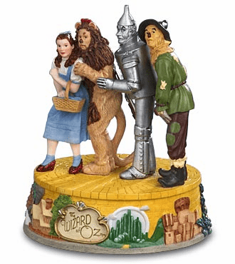 Wizard of Oz Four Character Figurine
