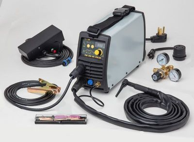 TIG Welder 180 Amp DC Inverter MAG-Power® (115-230VAC)
