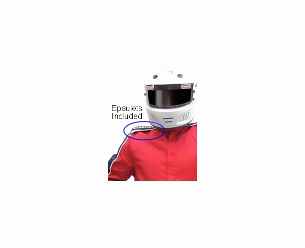 1 Piece SDX Nomex SFI-5 Race Suit - 2 Layer SFI 3-2A/5  by Pyrotect - alternative view 10