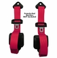 97'-06' Jeep Wrangler Seat Belts Pair 3 Pt Retractable Front Direct Replacement