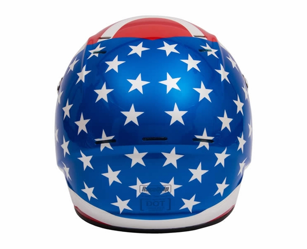 American Flag Helmet SA2015 Racequip Vesta 15 - alternative view 2