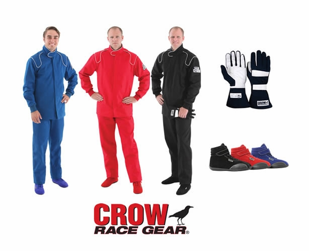Crow 2-Piece SFI-1 Racing Suit Package