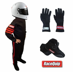 Racequip Junior Racing Suit Kids Package