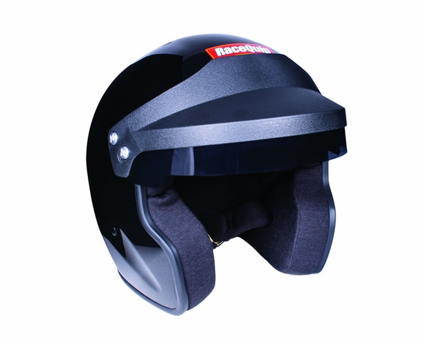 Racequip OF20 Open Face Helmet Snell SA2020 Rated White or Black