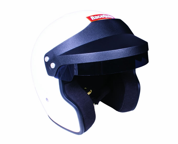 Racequip OF20 Open Face Helmet Snell SA2020 Rated White or Black - alternative view 1