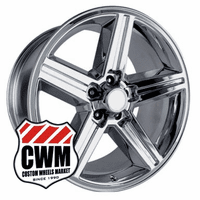 "16x8"" Chrome Chevy Iroc Z Replica Wheels Rims 5x4.75"" for Camaro 1967-1992"
