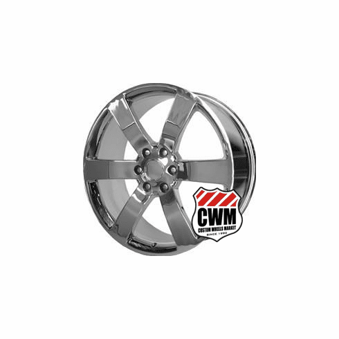 "20x8"" inch CWM GMC Envoy 2002-2009 OE Replica Wheel 5254 SS Chrome Rim 6x127"