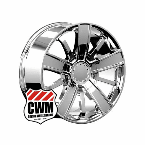 "20x9"" Chevy Silverado High Country 2014 Style OE 5416 Replica Chrome Wheel Rim"