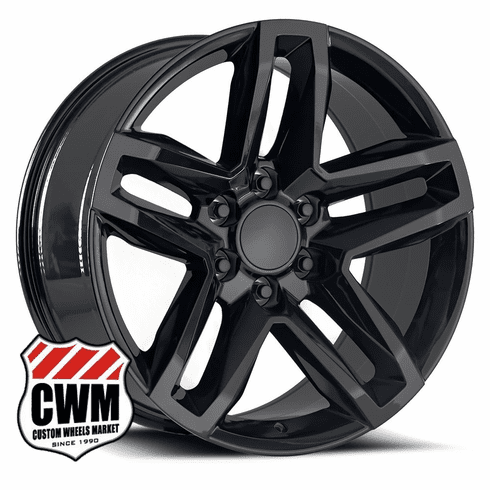 20x9 inch Gloss Black Z71 TRAIL BOSS style replica Wheel for Chevy Avalanche / Silverado / Suburban / Tahoe