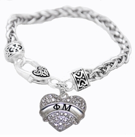 <BR>LICENSED SORORITY JEWELRY MANUFACTURER<BR>                 PHI MU SORORITY BRACELET<BR>                 NICKEL, LEAD,  & CADMIUM FREE! <BR>                       EXCLUSIVELY OURS W1740B1<BR>               FROM $7.90 TO $12.50 EACH �2015 <BR>