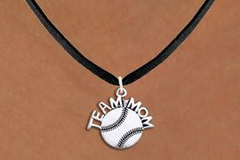 "<br>        BASEBALL NECKLACE   WHOLESALE <bR>                   EXCLUSIVELY OURS!! <BR>              AN ALLAN ROBIN DESIGN!! <BR>     CLICK HERE TO SEE 1000+ EXCITING <BR>           CHANGES THAT YOU CAN MAKE! <BR>        CADMIUM, LEAD & NICKEL FREE!! <BR>       W1491SN - DETAILED SILVER TONE <BR> ""TEAM MOM"" BASEBALL CHARM & NECKLACE <BR>             FROM $4.50 TO $8.35 �2013"