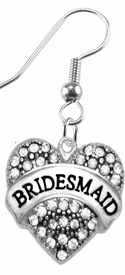 "<BR>       ""BRIDESMAID""  EXCLUSIVELY OURS!!   <Br>               AN ALLAN ROBIN DESIGN!!   <br>                         HYPOALLERGENIC<BR>        NICKEL, LEAD & CADMIUM FREE!!   <BR>W1681E1- FROM $5.98 TO $12.85 �2015"