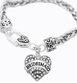 """<BR>                       THE """"PERFECT GIFT""""<BR>       """"BRIDESMAID""""  EXCLUSIVELY OURS!!   <Br>               AN ALLAN ROBIN DESIGN!!   <br>                         HYPOALLERGENIC<BR>        NICKEL, LEAD & CADMIUM FREE!!   <BR>W1681B1- FROM $5.98 TO $12.85 �2015"""