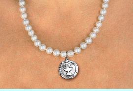 <BR>                       CATHOLIC JEWELRY<Br>                     LEAD & NICKEL FREE!! <Br>     W19454N - COMMUNION CUP <BR> CHARM ON 8MM PEARL BEAD NECKLACE <BR>            FROM $4.73 TO $10.50 �2012